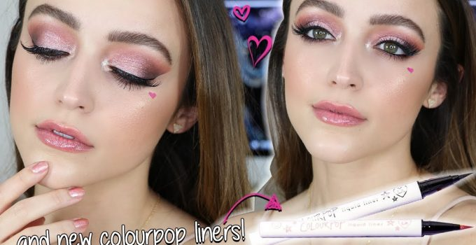 Valentines Day Makeup Tutorial ROSY GLOW