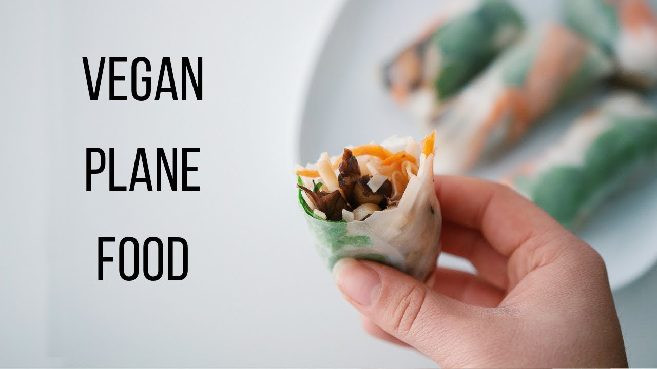 Vegan Plane Food Ideas