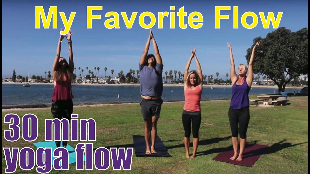 30 Minute Yoga Class My Favorite Flow