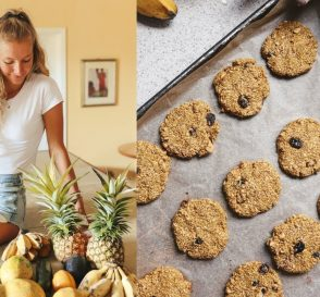 Rainy Day in Hawaii What I Ate Easy Breakfast Cookie Recipe