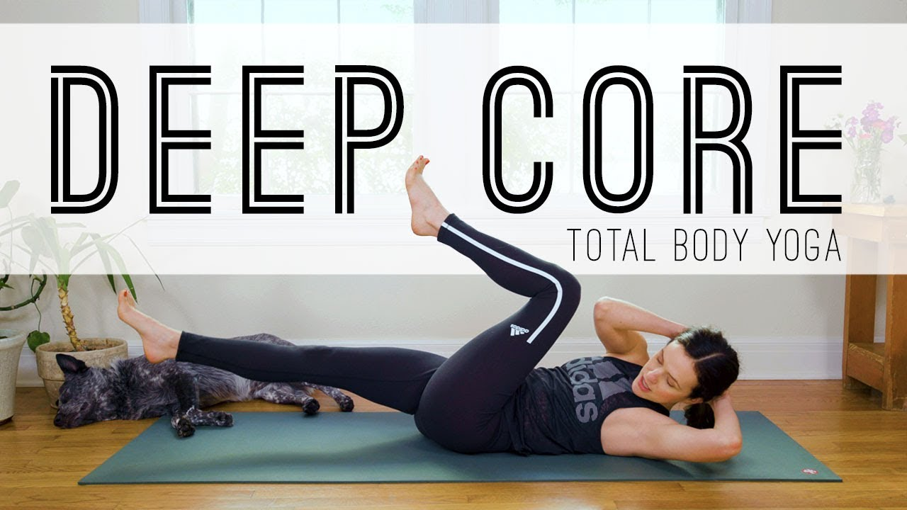 Total Body Yoga Deep Core Yoga With Adriene