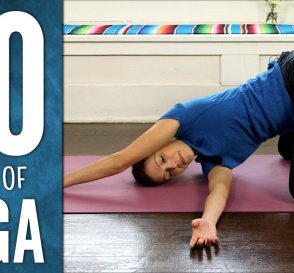 Yoga For Your Back 30 Days of Yoga Day 4