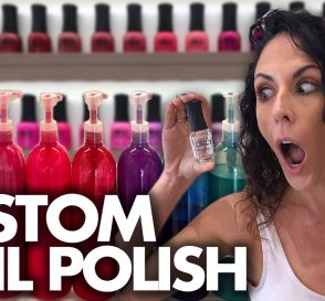 Making Our Own Custom NAIL POLISH Beauty Trippin