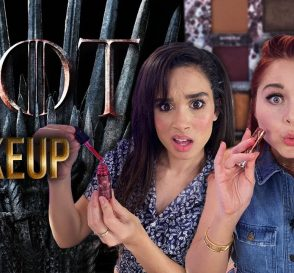Trying the GAME OF THRONES Makeup Collection Beauty Break