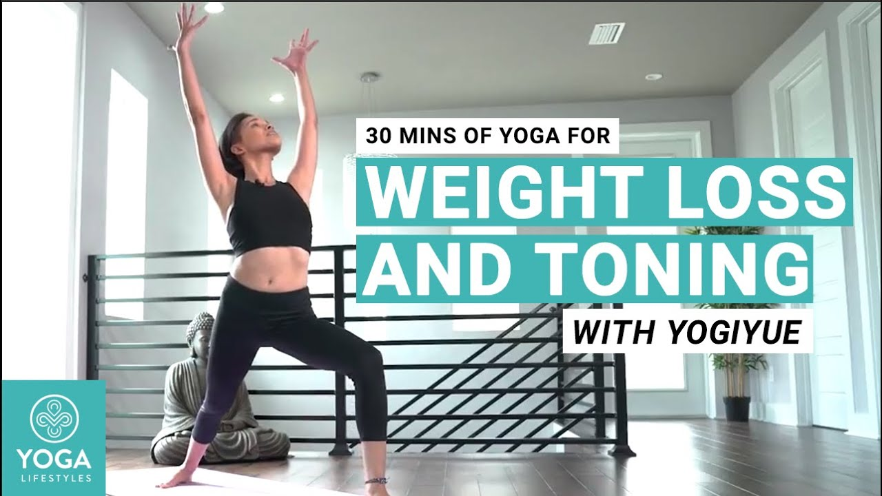 30 mins of Yoga for Weight Loss and Toning with YogiYue Shape Your Core