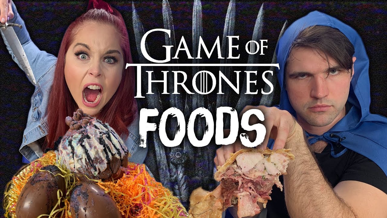 Food from Game of Thrones Taste Test Cheat Day