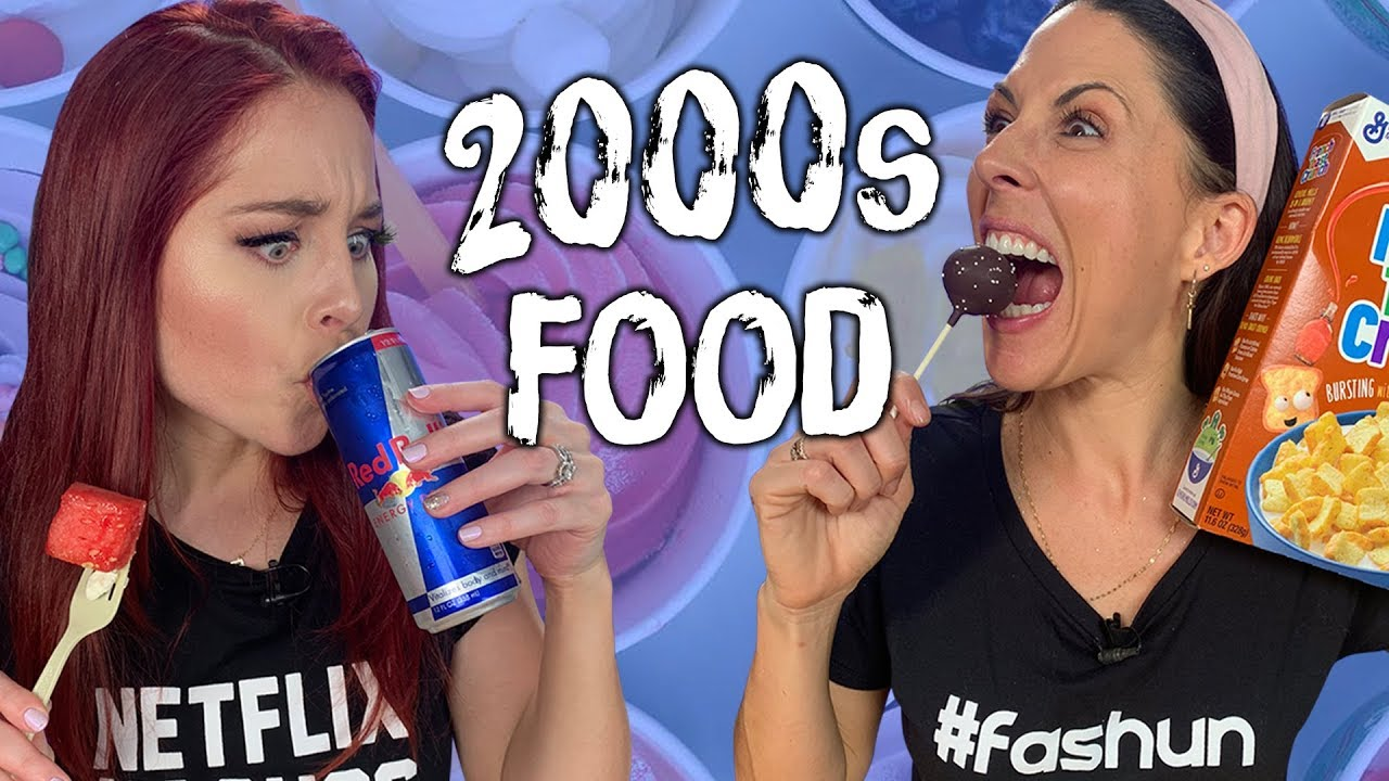 Foods that were NEW in the 2000s Cheat Day