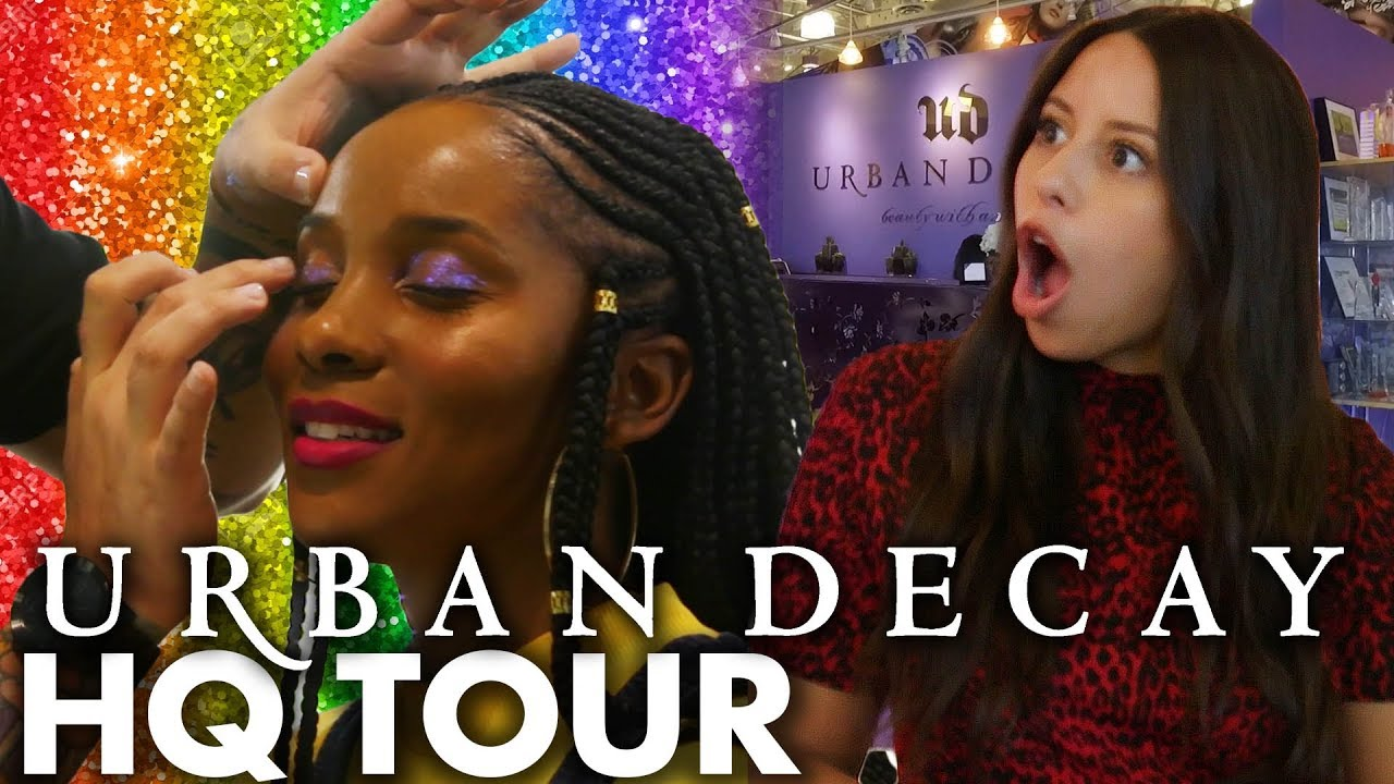 Touring Urban Decay Testing Pride Inspired Makeup Beauty Trippin