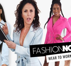 Trying on Fashion Nova Wear to Work Outfits