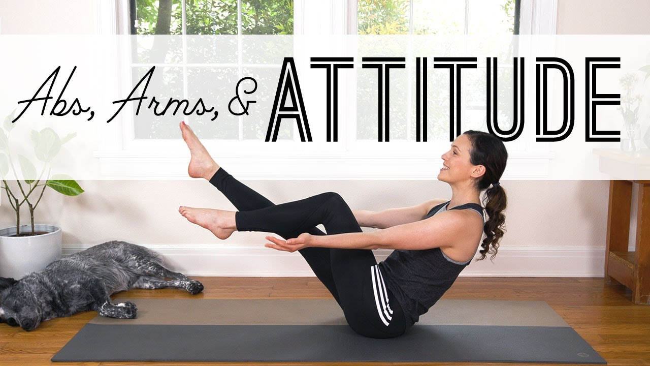 Abs Arms and Attitude Yoga For Weight Loss Yoga With Adriene