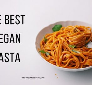 Easy Vegan Pasta Recipe what i ate in italy