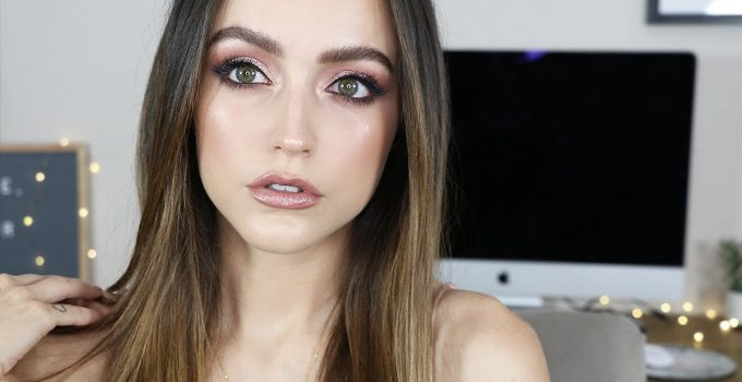 FULL FACE OF GLAM MAKEUP Go To Look for special occasions