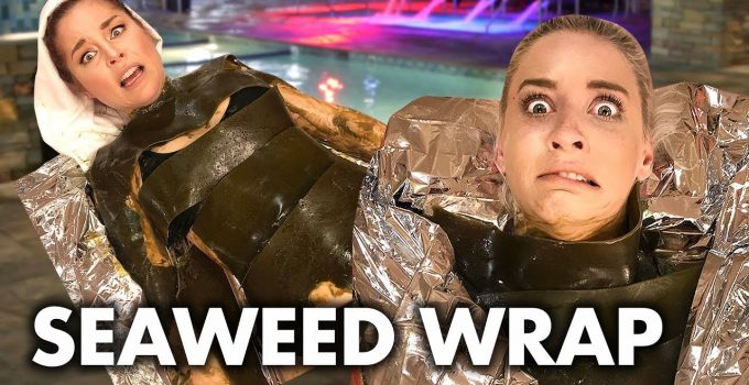 Getting Wrapped in Seaweed at a Korean Spa Beauty Trippin