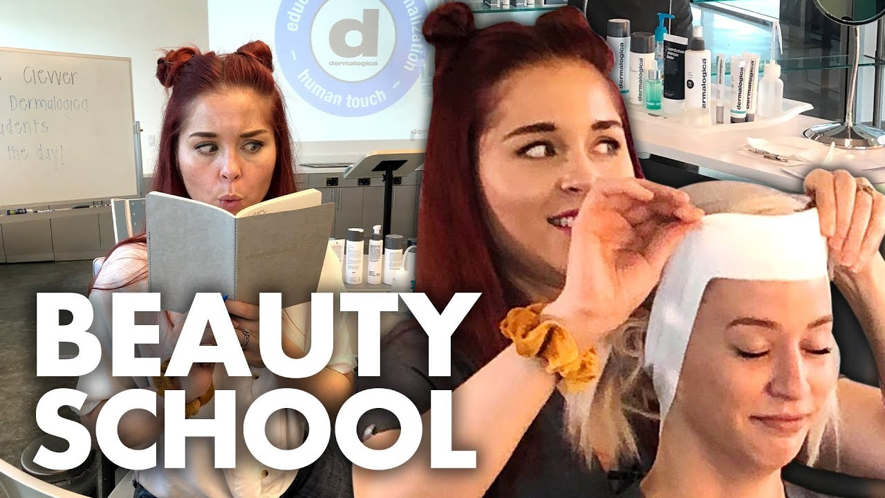 Learning How to Give a Facial Beauty Trippin
