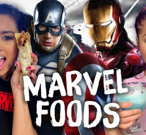 Trying Foods from Marvel Movies Cheat Day