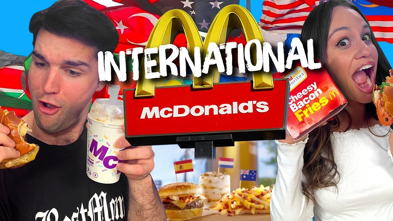 We Ate Everything on McDonalds New International Menu Cheat Day