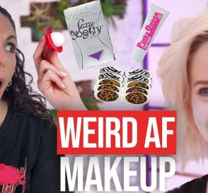 9 Weirdest Makeup Products Weve Ever Tried Bonus Break