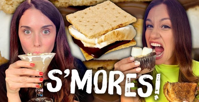 Taste Testing Crazy Smores Foods Cheat Day