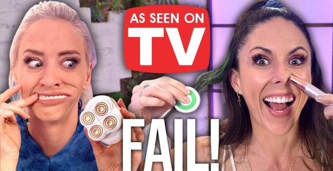 Testing Weird As Seen On TV Products Beauty Break