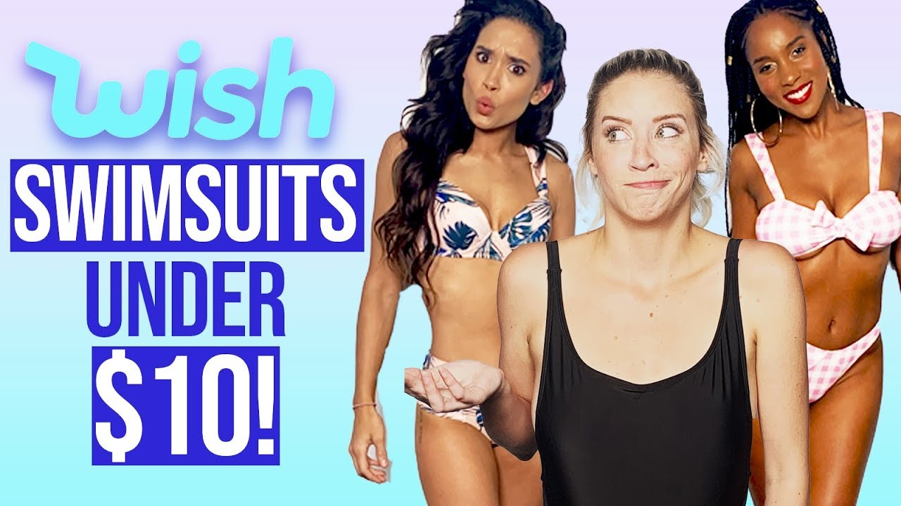 Trying Cheap Swimsuits from Wish Under 10