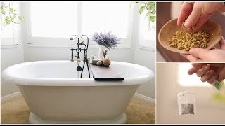 Bath Time Beauty Tips Simple Ingredients