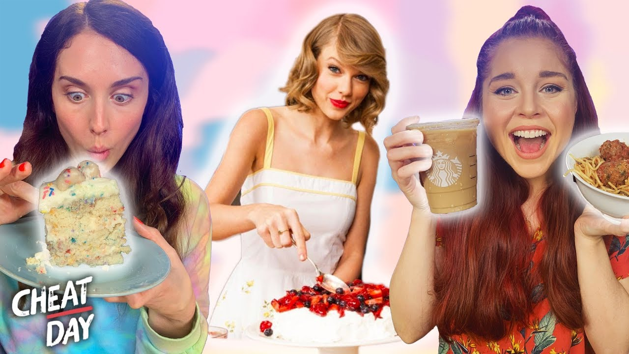 Eating Taylor Swifts Favorite Foods Cheat Day