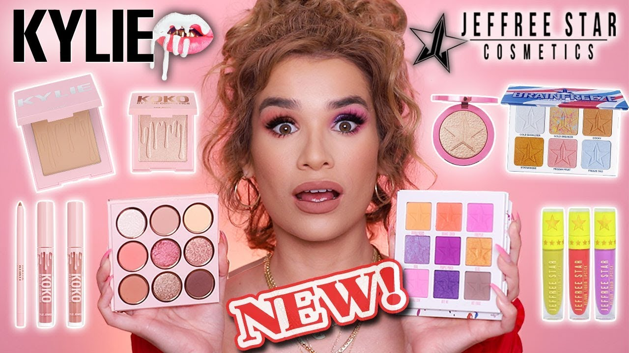 FULL FACE Testing HOT NEW MAKEUP is it Worth the HYPE