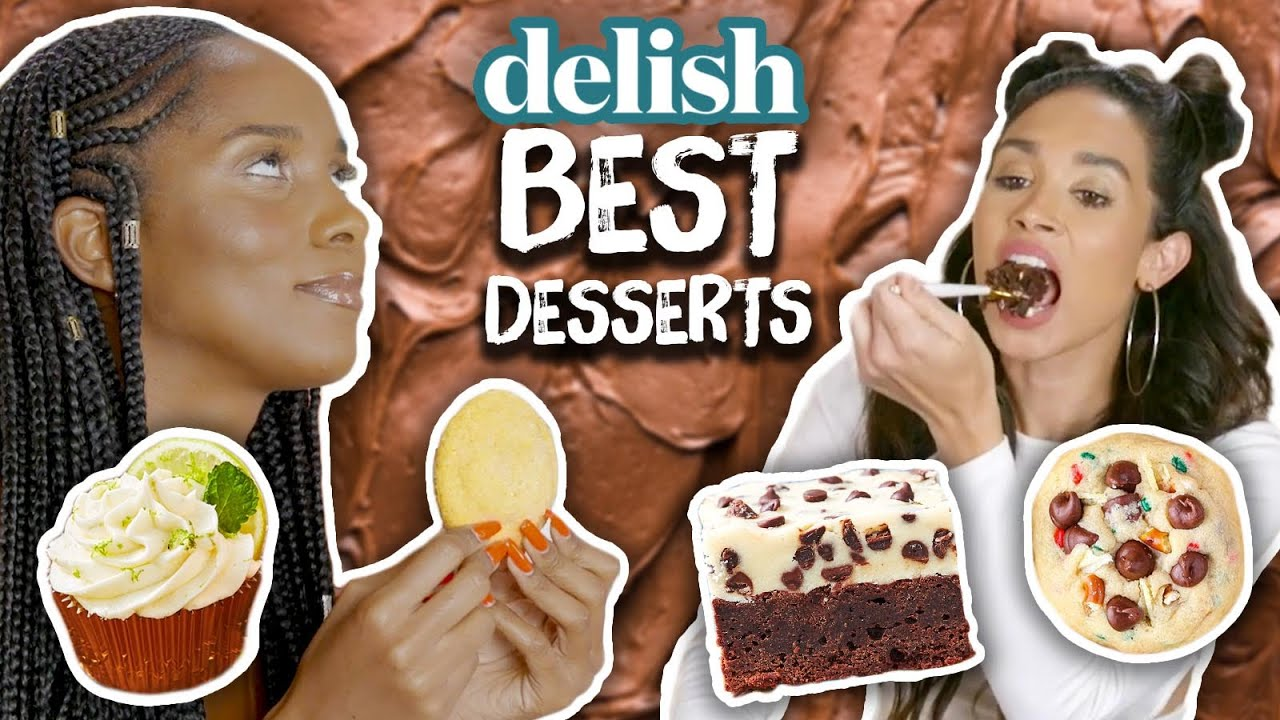 Trying the Craziest Desserts Ever Created by Delish Cheat Day