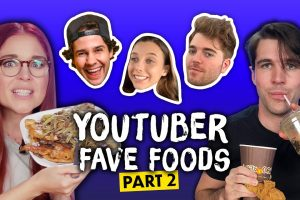 Trying YouTubers Favorite Foods PART 2 Shane Dawson David Dobrik Jake Paul More Cheat Day