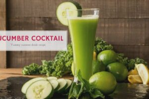 cucumber cocktail recipe easy to make