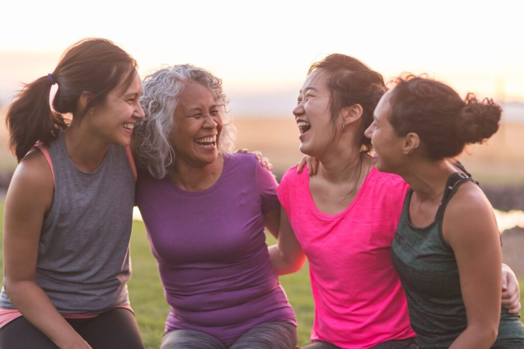 meet your friends, and present your goals for them, and get motivated to take action