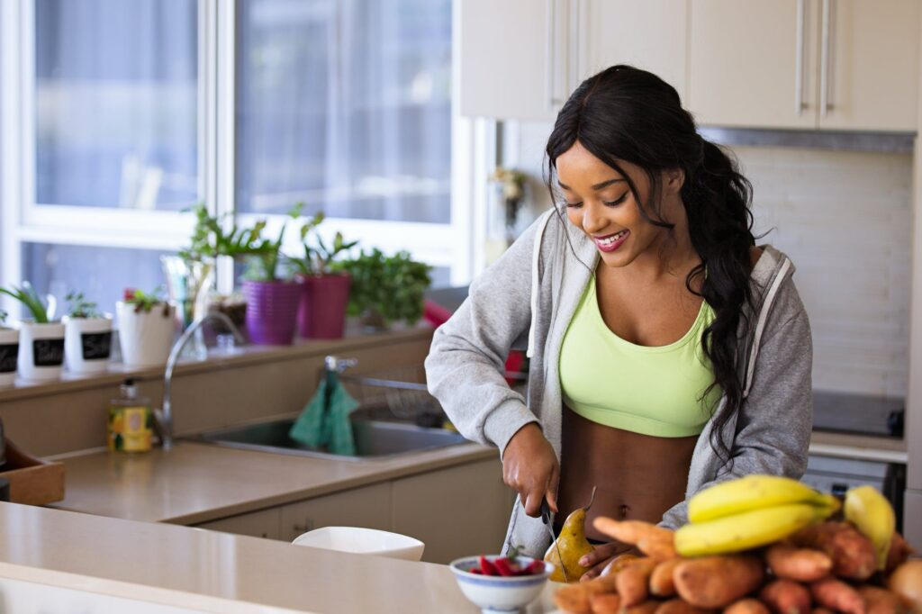 healthy habits could be preparing your own meals