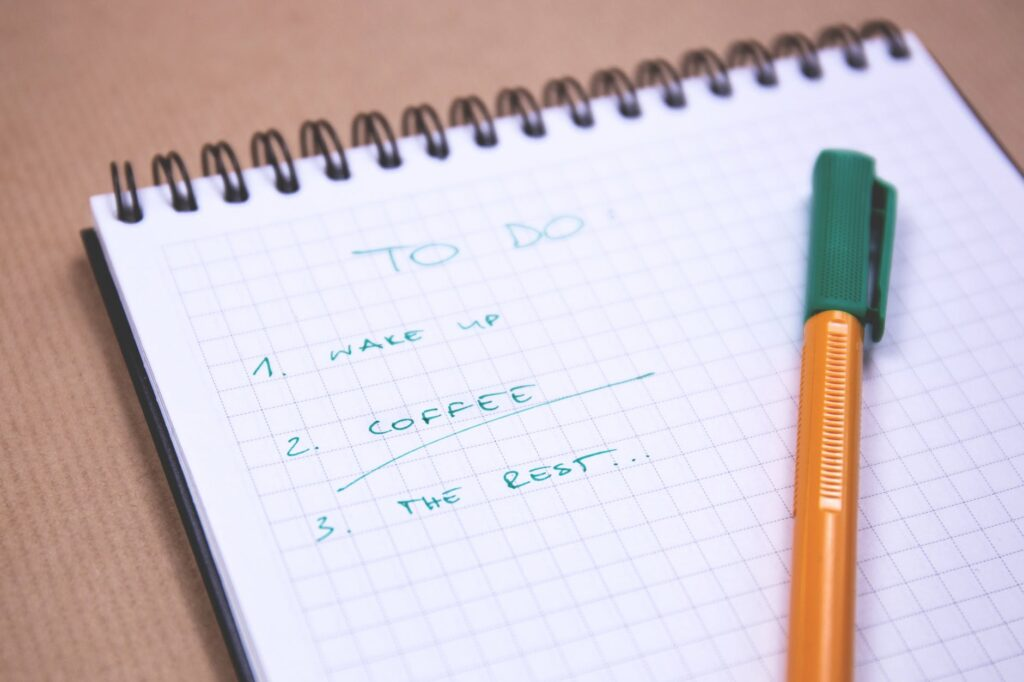 Making to-do lists will be a great way to achieve your goals faster!