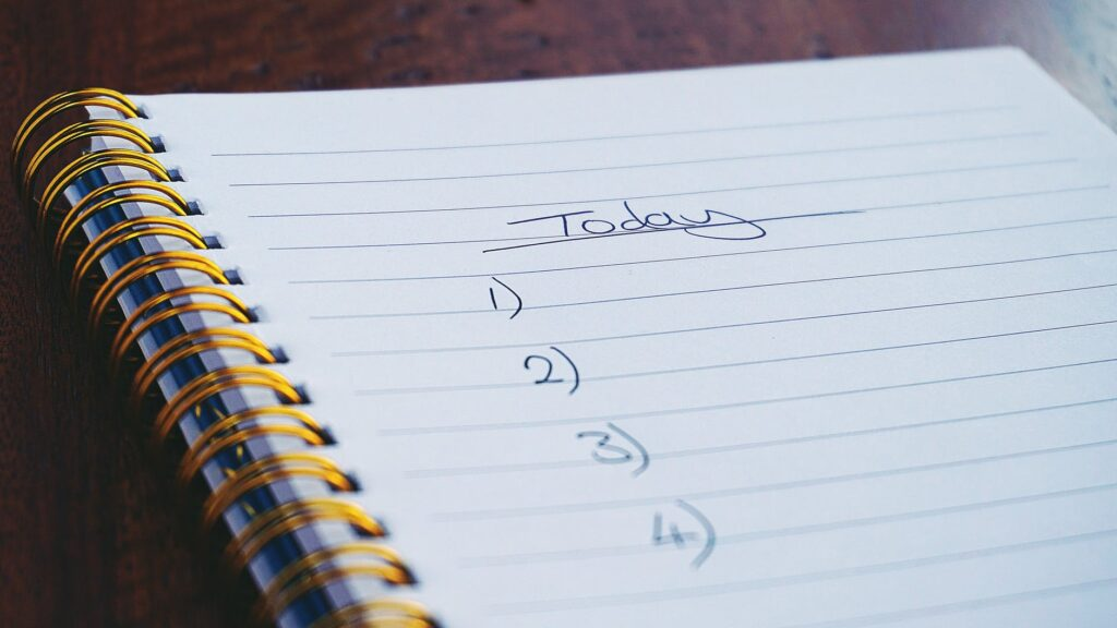 organize your life with a bullet journal
