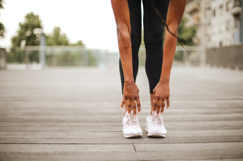running - example of a physical activity