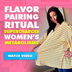 Flavor pairing ritual supercharges women's metabolism - with Cinderella